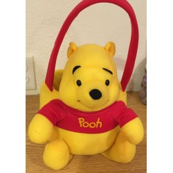 Plush Pooh Easter Basket