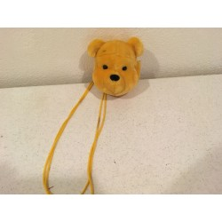 Plush Pooh Head Purse