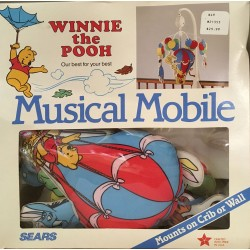 Vintage Pooh Musical Mobile