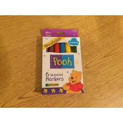 Vintage Scented Pooh Markers