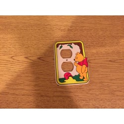 Vintage Pooh Outlet Cover