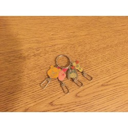 Pooh & Friends Keychain