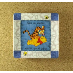 Pooh Square Quilt Plate 2