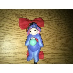 Eeyore Christmas Bow Ornament