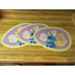 Easter Egg Shaped Table Mats