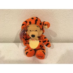 Pooh Dressed as Tigger Beanie