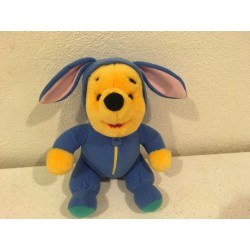 Pooh Blue Easter Bunny