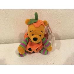 Halloween Pumpkin Pooh Beanie