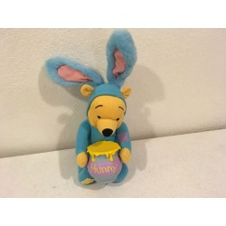 Pooh as Blue Easter Bunny